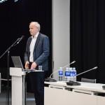"""VU KF Žurnalistikos instituto direktorius doc. dr. Deimantas Jastramskis skaitė pranešimą """"Žiniasklaidos ir politikos kryžkelės"""""""